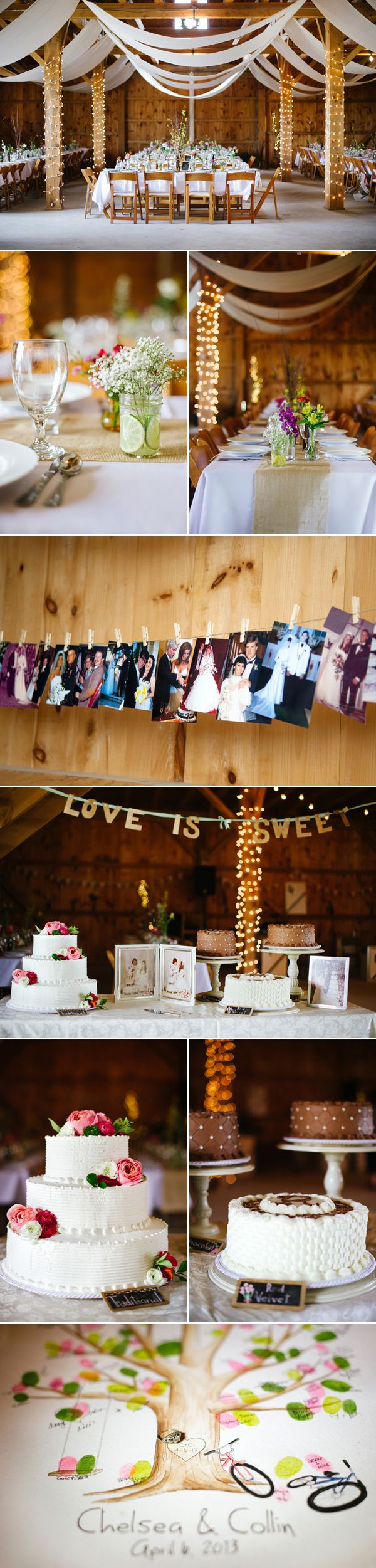 Chelsea & Collin's Summer Camp Barn Wedding from Maria Hibbs