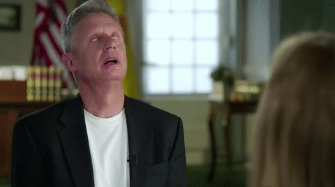 New trendy GIF/ Giphy. annoyed eye roll election 2016 eyeroll gary johnson libertarian party. Let like/ repin/ follow @cutephonecases