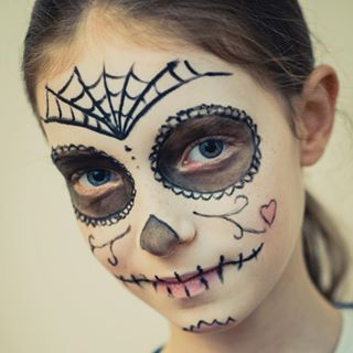 Maquillage Sorcière Fille Halloween