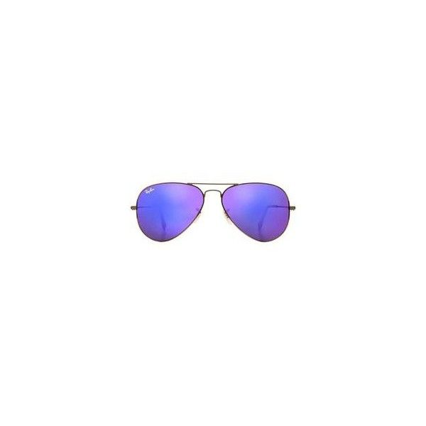 Ray-Ban Sunglasses, RB3025 58 ORIGINAL AVIATOR ❤ liked on Polyvore featuring accessories, eyewear, sunglasses, ray ban glasses, sport sunglasses, ray ban aviator, sport glasses and ray ban eyewear