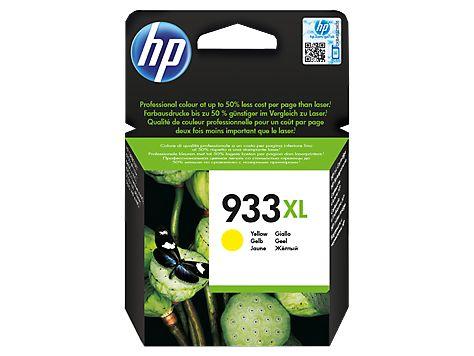 Tinta Printer HP 933XL Yellow Ink Cartridge Original dengan harga termurah Rp 176.000,- dan bergaransi Resmi serta bisa dibeli secara eceran dan grosir
