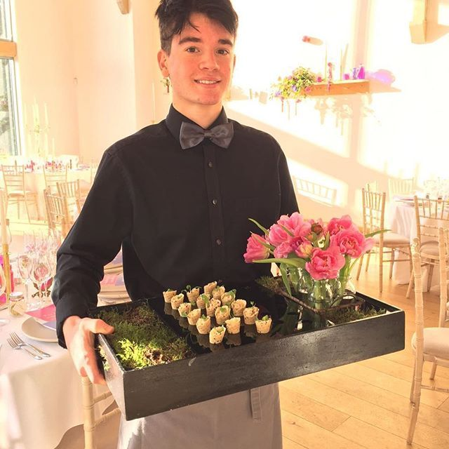 Morning!! #kalmkitchen #eventprofs #catering #canapes #food #wedding