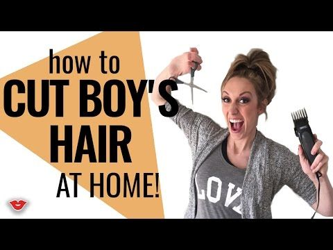 How to Cut Boys Hair (in under 15 min) - FunCheapOrFree.com