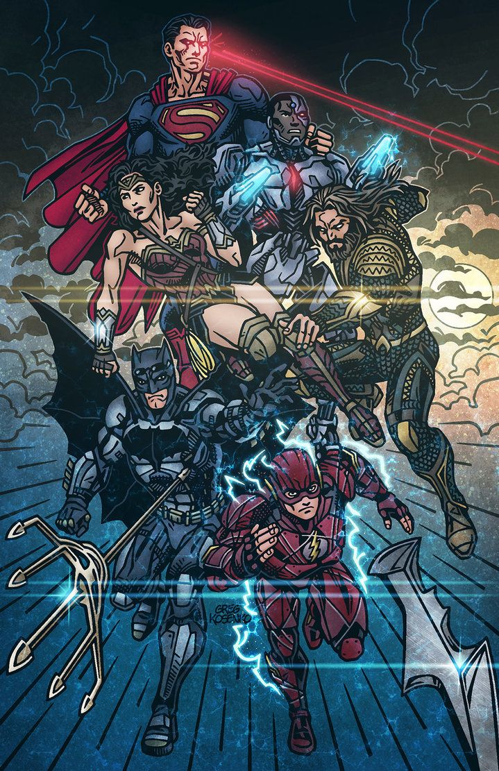 Fanart For Zack Snyder S Unreleased Justice League Movie I Tryed To Get As Close As Possible To The Ori Justice League Justice League Art Dc Comics Characters