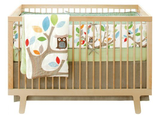 Amazon.com: Skip Hop 4 Piece Crib Bedding Set, Treetop Friends: Baby