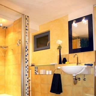 Best Navy And Yellow Bathroom Images On Pinterest Bathroom