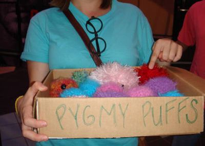 HP crafts! Make a pygmy puff, HP doll, and more!: Crafty Potter, Hp Crafts, Potter Party, Potter Crafts, Hp Doll, Harrypotter, Hp Party, Harry Potter Craft