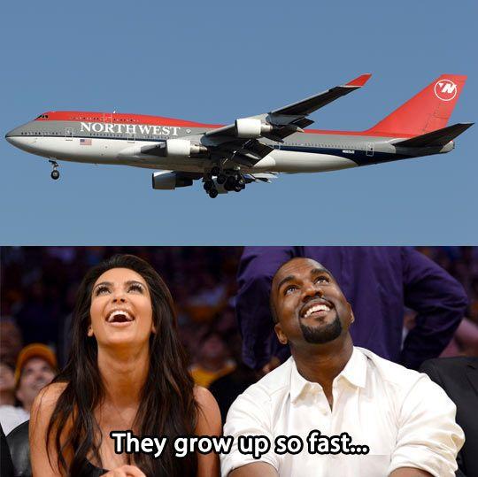 Kim and Kanye...