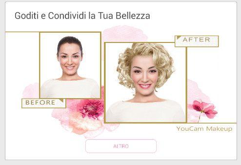 Vuoi creare dei selfie perfetti? YouCam Makeup Salone Virtuale è l'applicazione Android che trasforma il tuo Android in un salone di bellezza.