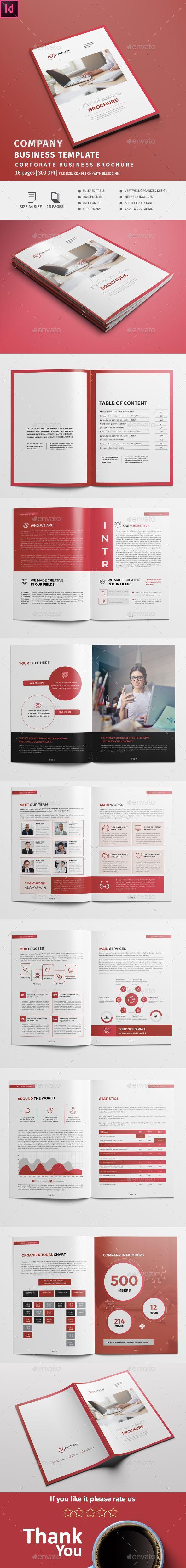 Light Business Template The 3781 best Brochure