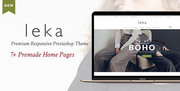 Leka - Premium Responsive Prestashop Theme