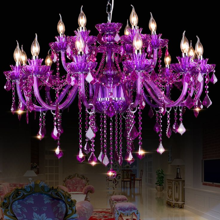 High Quality Purple K9 Crystal Chandelier Lustre Crystal Chandeliers Light Lustres De Cristal Chande-  Item Type: Chandeliers  Style: Modern  Model Number: J597/6  Features: High Quality Green K9 Crystal Chandelier  Body Material: Crystal  Shade Direction: Down  Certification: CE,RoHS  Voltage: 90-260V  Power Source: AC  Brand Name: DX  Shade Type: Shadeless  Base Type: E14  Finish: Brushed Nickel  Light Source: LED Bulbs  Is Dimmable: No  Installation Type: Semiflush Mount  Warranty: 3years…