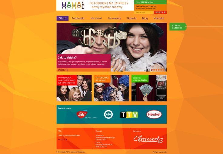 Web Design for hahafoto.pl