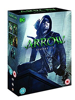 Arrow: S1-5 (DVD/S) [2017]: Amazon.co.uk: Stephen Amell, Katie Cassidy, Paul Blackthorne, Colin Donnell, David Ramsey, Willa Holland, Susanna Thompson, Emily Bett Rickards, John Barrowman, Colin Salmon: DVD & Blu-ray