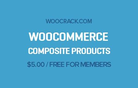 WooCommerce Composite Products 3.6.9, Woocrack.com – WooCommerce Composite Products is a WooCommerce Extensions developed by Woothemes. WooCommerce Composite Products ideal for offering dynamic