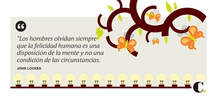 Frase publicada en El Colombiano el lunes 16 de marzo de 2015.