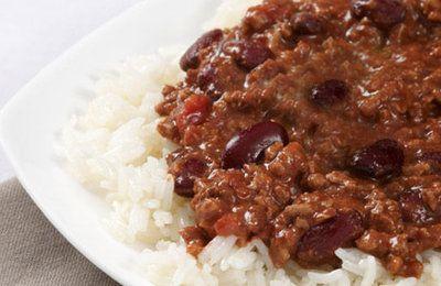 Recette Chilli con carne au soup & co