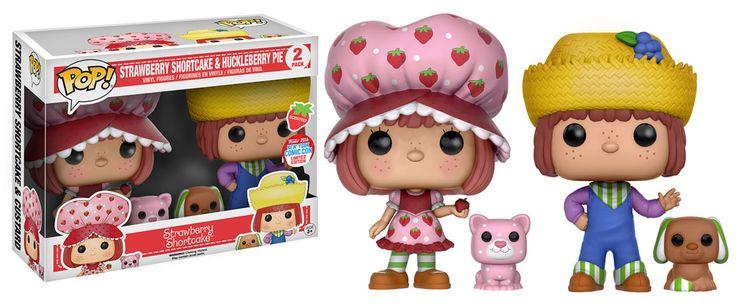 Strawberry Shortcake & Huckleberry Pie Funko Pop! Vinyl Figure