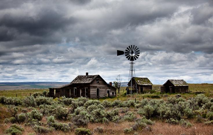 Abandoned Homestead Kent, Oregon - June 2010
