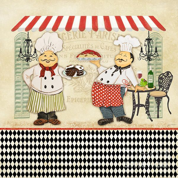 I uploaded new artwork to plout-gallery.artistwebsites.com! - 'French Chefs-jp2252' - http://plout-gallery.artistwebsites.com/featured/french-chefs-jp2252-jean-plout.html