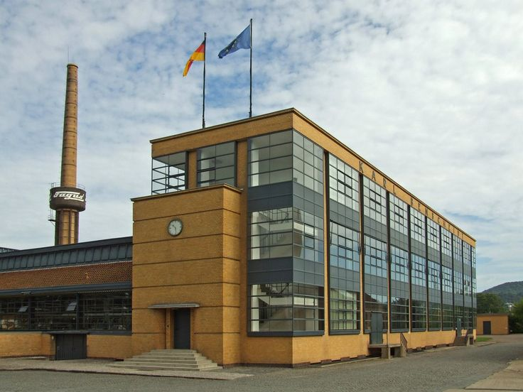 Bauhaus Walter Gropius Timeless Classic: Fagus Factory By Walter Gropius And