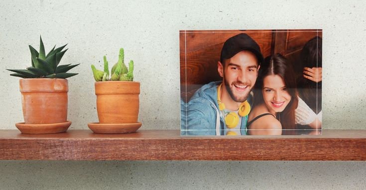Cherish those golden moments with your partner? Choose a stunning freestanding #acrylicblock from #PrintsOnGlass and leave your partner speechless with a gift as perfect as an acrylic block