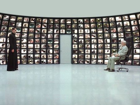 Cogito Ergo Sum: Matrix Reloaded - Neo's Conversation with the Architect