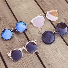 Margot Round Sunglasses