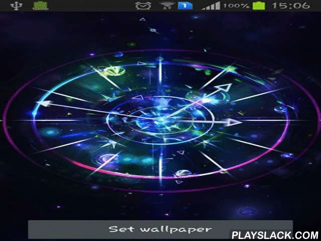 Cool live wallpapers 25 pinterest cool clock android app playslack cool clock pretty and different clock for your desktop the special feature of these live wallpapers is luminous voltagebd Gallery