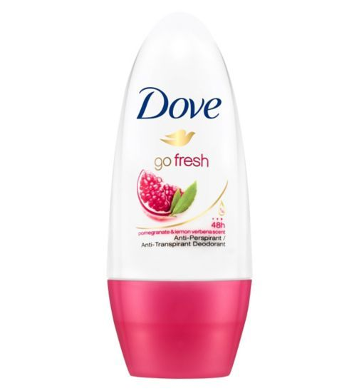 Dove Go Fresh Pomegranate and Lemon Verbena Scent Anti-Perspirant Deodorant Roll-On 50ml