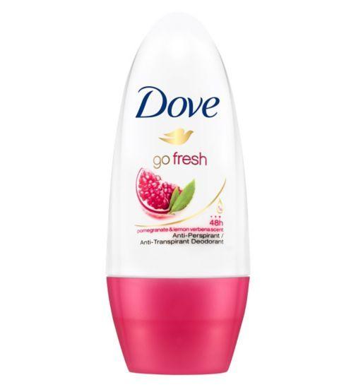 Dove Go Fresh Pomegranate and Lemon Verbena Anti-Perspirant Deodorant Roll-On - Boots