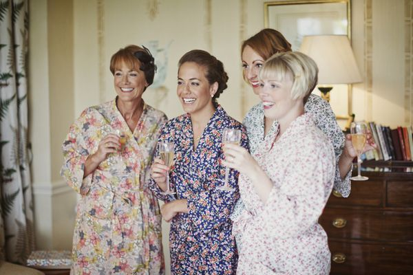 lucysaysido handmade bridesmaids presents making floral dressing gowns photography by Mark Tattersall http://mark-tattersall.co.uk/