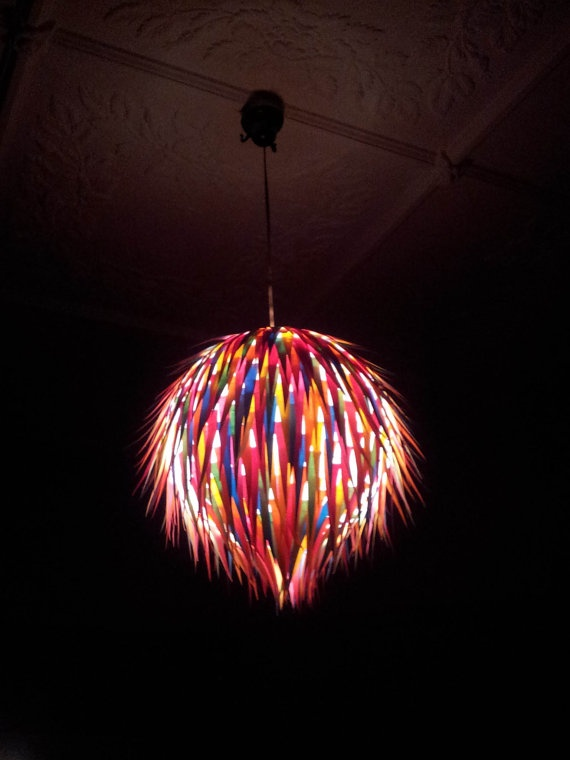 Fabulous Paper Pendant Light fabulous most beautiful interior design pink wall walpaper amazing chandelier light design ideas Coloured Paper Round Hanging Light Shade By Melscreativedesigns 6000