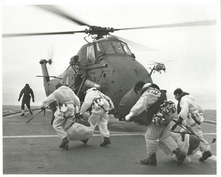 HMS Endurance, M Company 42 Cdo RM Southern Thule 1982.