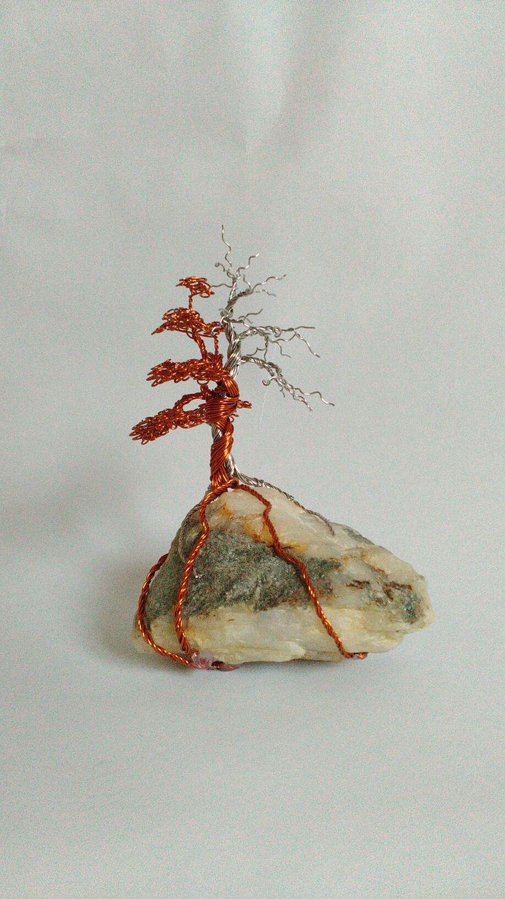Wire tree - měď a nerez