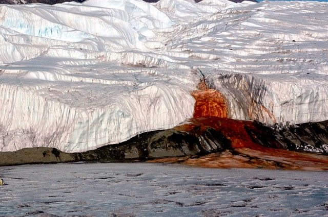 """Source Of Antarctica's Mysterious """"Blood Falls"""" Discovered 