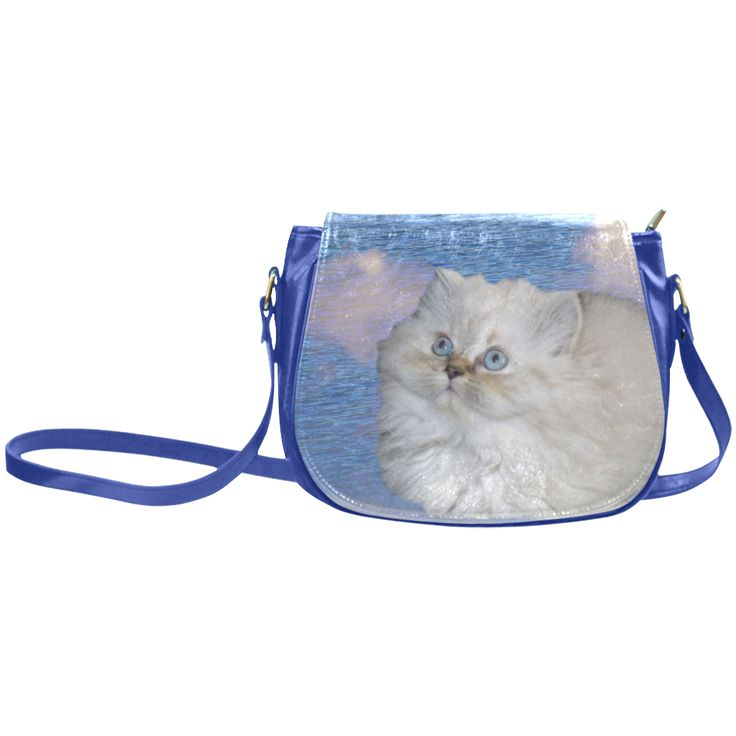 Cat and Water Classic Saddle Bag/Large (Model 1648)
