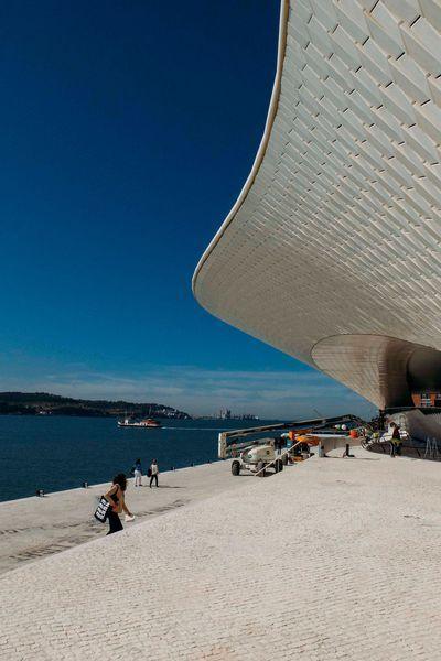 Le musée d'art, d'architecture et de technologie de Lisbonne ouvrira fin 2017 mais son toit est déjà accessible.
