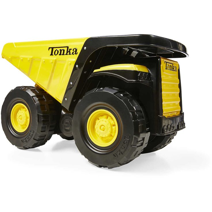 Tonka is getting back to its roots with the Toughest Steel Mighty Dump Truck! Built to last and withstand even the toughest Tonka kids, this Classic Mighty Dump Truck, complete with a moveable bed, is ready to take charge in any construction zone and guaranteed for life!