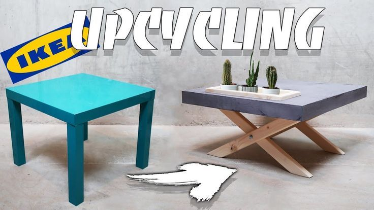Ikea Lack Diy Upcycling To A Stylish Coffee Table Easy