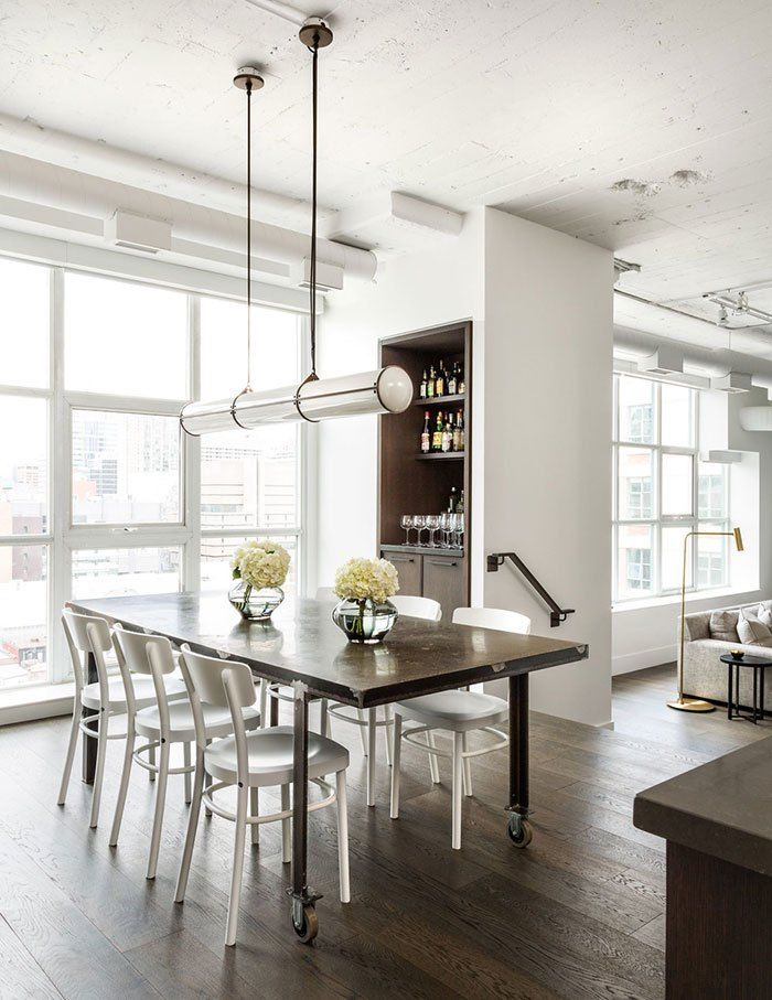 Interior cravings how to create a modern industrial look that is timeless merchandise loft