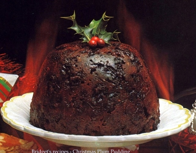 Bob cratchit christmas pudding sauce