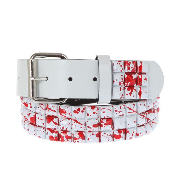 Okay I am not going to lie I REALLY want this belt like omg it's amazing it also reminds me of the knives and pens music video. ...