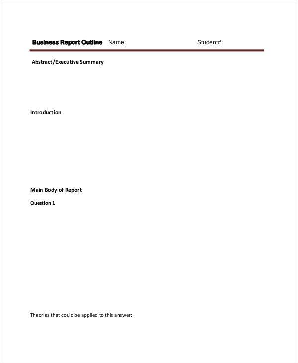 Ponad 20 najlepszych pomysłów na Pintereście na temat Outline sample - sample executive reports