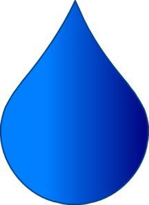 Blue Drop Clip Art