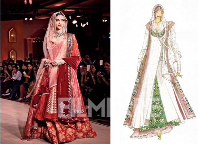 Costume Designer Anju Modi Tells Us How The Costumes Of Bajirao Mastani Will Create A History Of Its Own Mastani Dress Traditional Indian Dress Indian Dresses