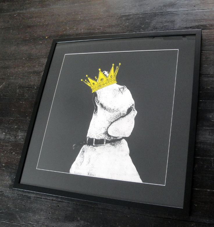 Crown by DOLK is a Signed Limited Edition Print. All Epoch Art Gallery prints include FREE UK delivery.