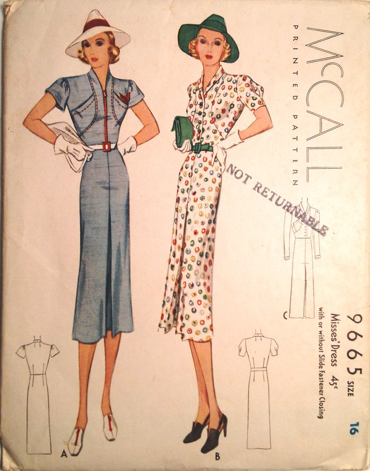 969 best vintage 1920s 1930s 1940s sewing patterns