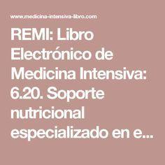 REMI: Libro Electrónico de Medicina Intensiva: 6.20. Soporte nutricional especializado en el paciente quirúrgico