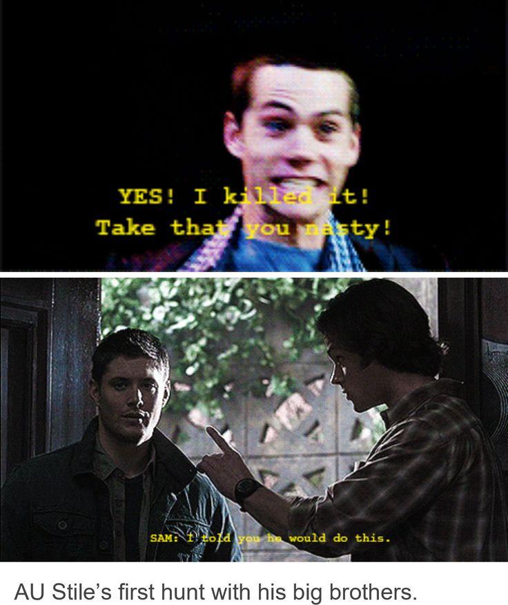Stiles' first hunt